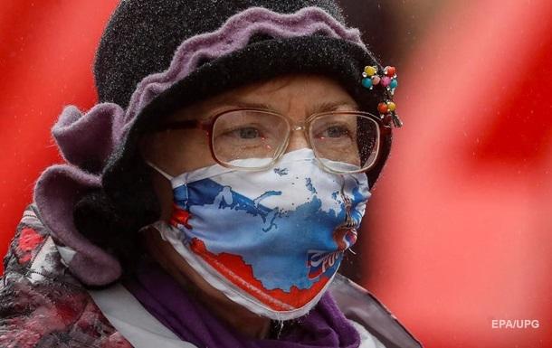 У Росії новий максимум за зараженими коронавірусом
