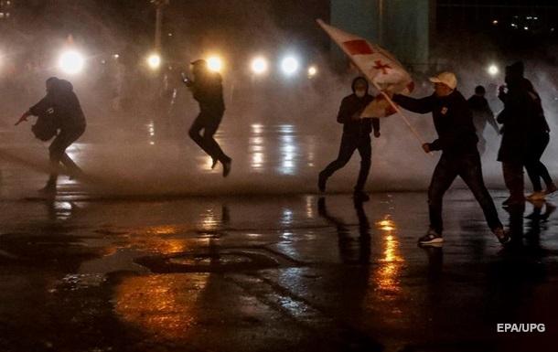 Протесты в Тбилиси: пострадали 27 человек