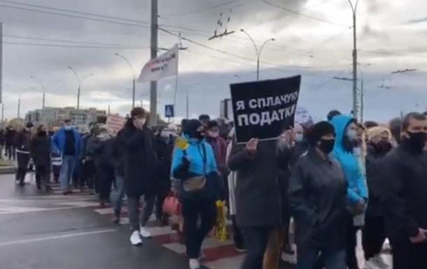 Підприємці блокують дороги в регіонах