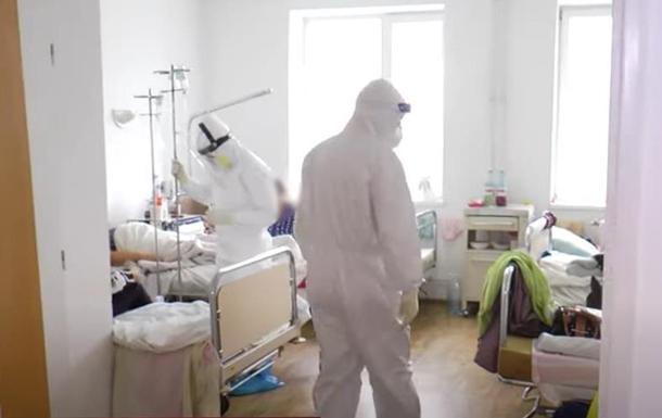Один лікар на сто пацієнтів - в Україні зростає завантаженість COVID-лікарень