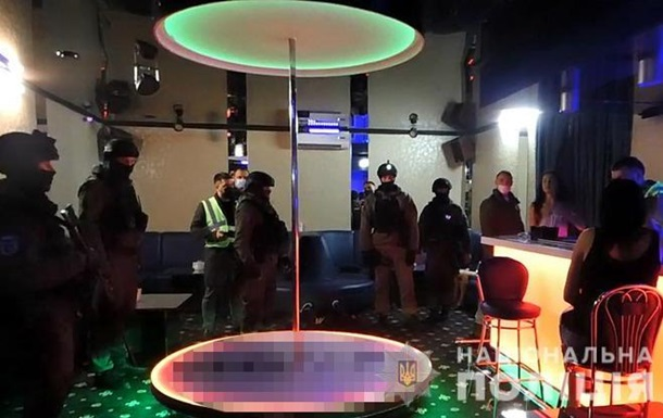 В Киеве  замаскированный  бар работал после 22:00