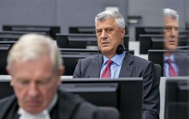 Екс-глава Косова Тачі у суді відкинув обвинувачення у воєнних злочинах