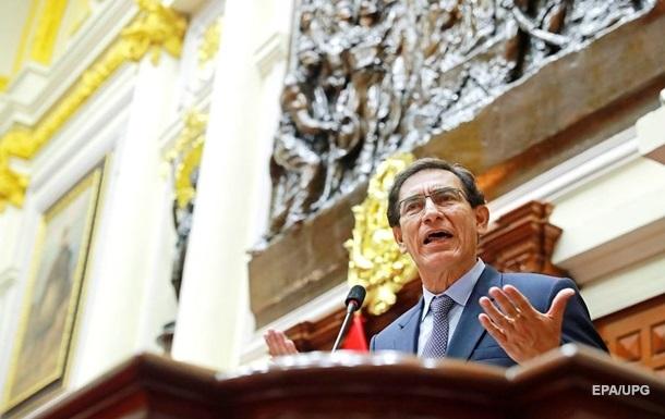 У Перу президенту оголосили імпічмент