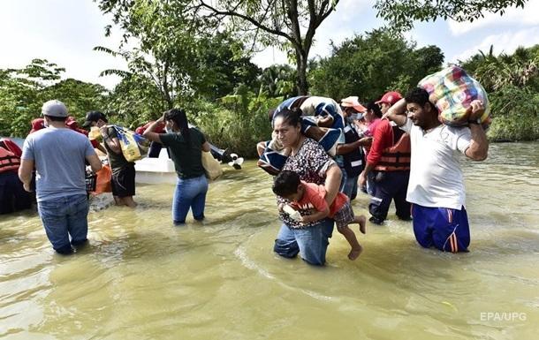 В Мексике шторм Eta вызвал мощные наводнения