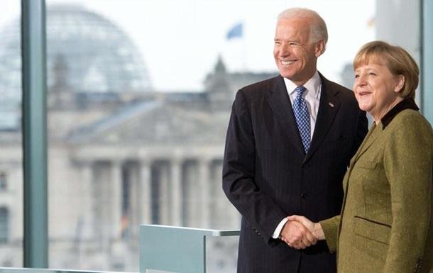 Меркель і Байден погодилися щодо важливості трансатлантичної співпраці