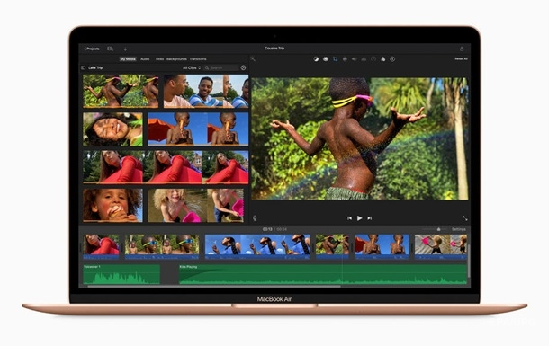 Новый MacBook от Apple - фото ноутбука