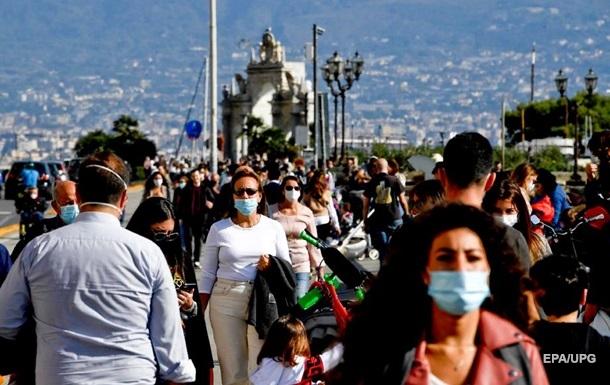 В Италии число инфицированных COVID-19 превысило один миллион
