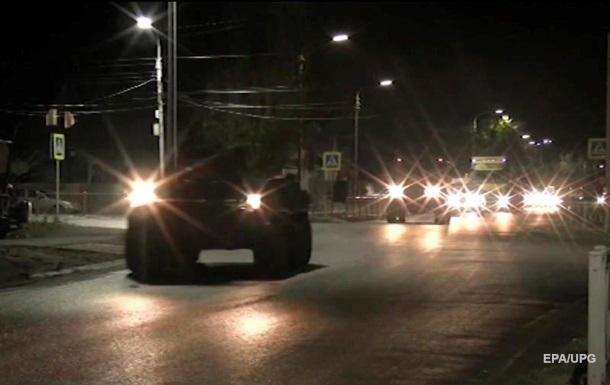 Российские миротворцы совершили марш в Карабах