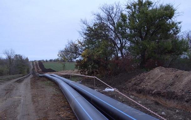 В Крыму строят новый водовод для Симферополя