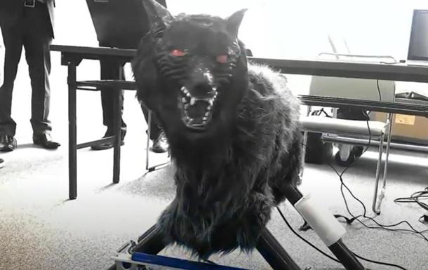 В Японии роботы-волки отпугивают хищников