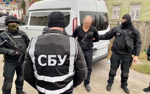 У Сумах затримали  смотрящого  по Харківській області