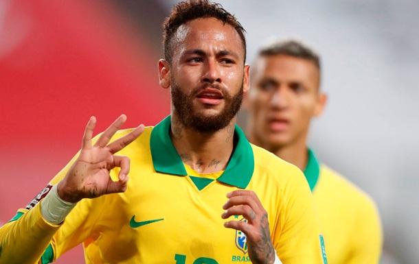 Неймар залишив розташування збірної Бразилії