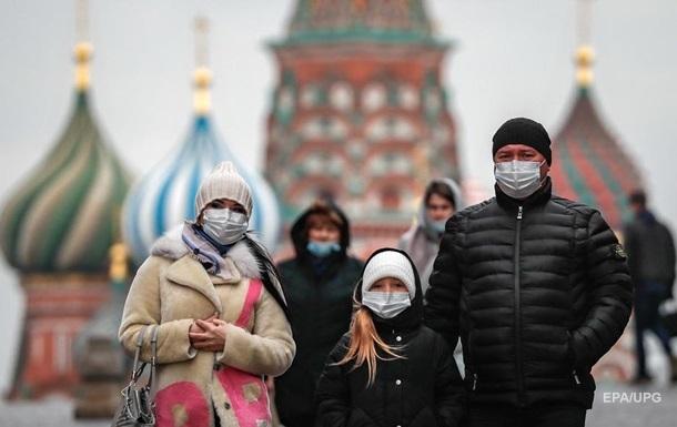 COVID-рекорд: в Росії майже 22 тисячі хворих за добу