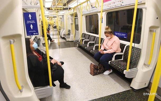 Ученые не нашли в метро и автобусах Лондона следов COVID