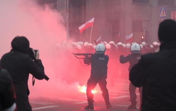 Почему польская полиция жестоко разогнала  Марш Независимости
