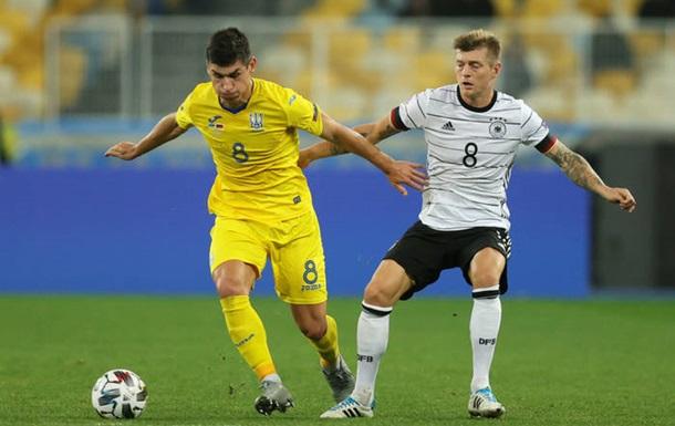 Германия - Украина 2:1. Онлайн матча Лиги наций