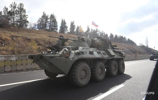 В Нагорный Карабах вошли военные РФ. Фоторепортаж