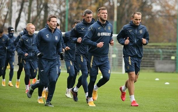 Четыре игрока сборной Украины заразились коронавирусом накануне матча с Германией