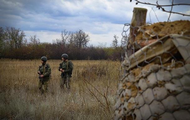 За добу на Донбасі зафіксовано п ять порушень перемир я