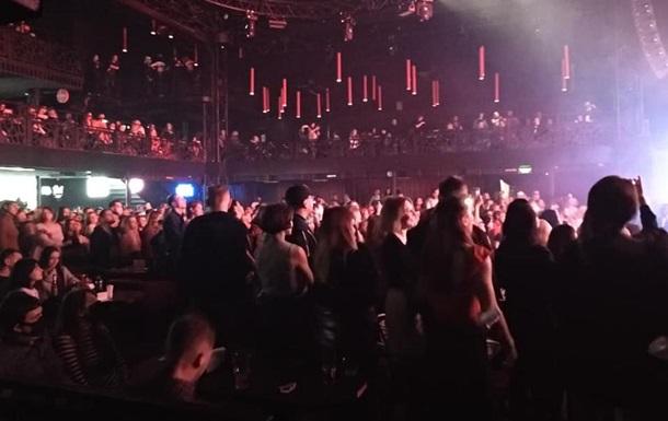 Во Львове полиция прекратила концерт в ночном клубе