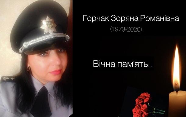 В Івано-Франківську від коронавірусу померла підполковник поліції