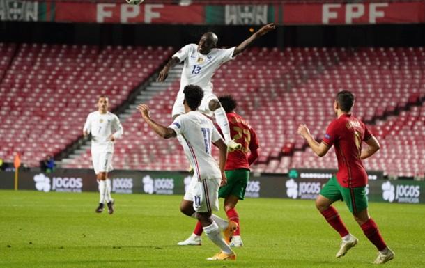 Франция одолела Португалию и вышла в финальный этап Лиги наций