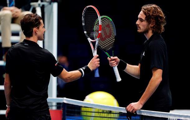 Циципас проиграл Тиму на старте Итогового турнира ATP