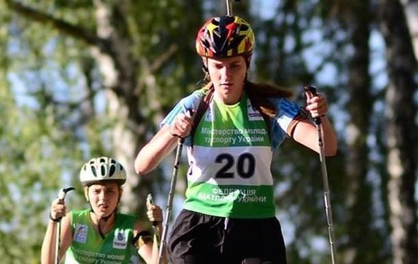 Українська біатлоністка потрапила у ДТП і зламала хребет