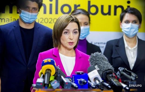 Санду упомянула Украину в первом выступлении
