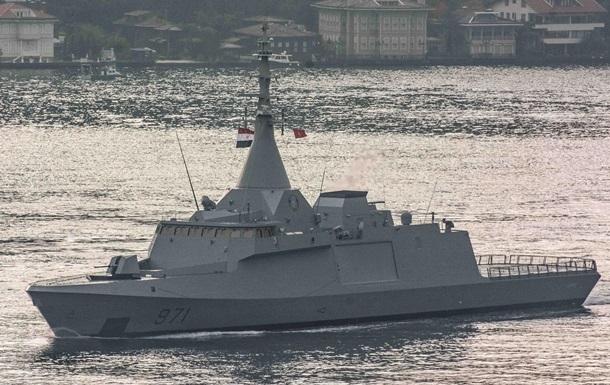 Єгипет уперше відправив військовий флот у Чорне море