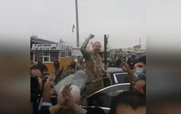 Алиев приехал в Нагорный Карабах