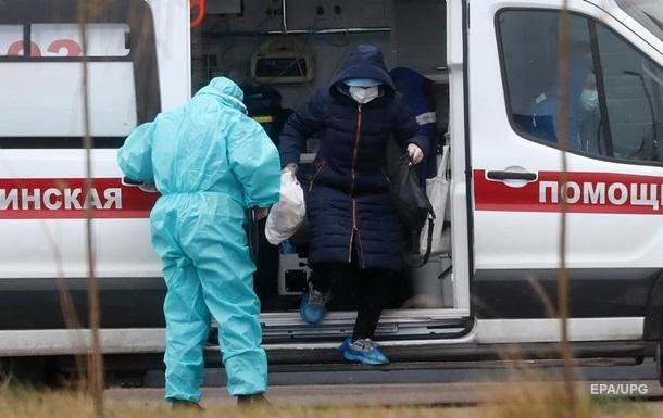 У РФ рекордна добова смертність від COVID-19