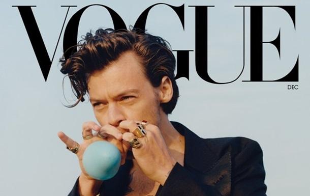 Музикант у сукні: обкладинка Vogue розлютила читачів
