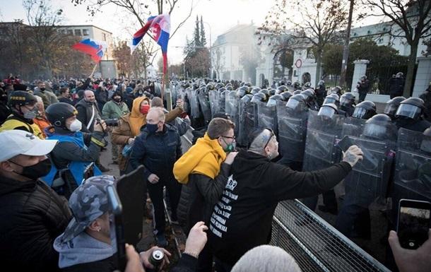 В Словакии протестуют против карантина