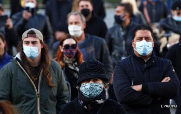 У Франції число випадків зараження COVID-19 перевищило два мільйони