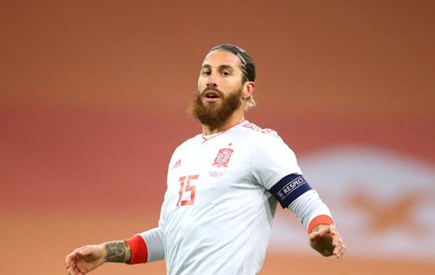 Рамос отримав травму в матчі Іспанія - Німеччина