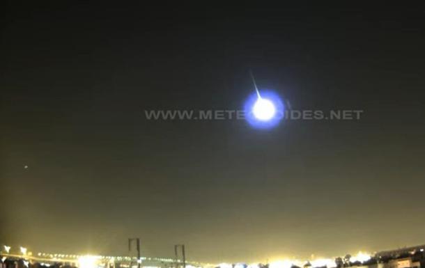 В небе Испании взорвался метеорит