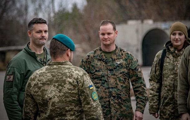 Зону ООС посетили американские военные