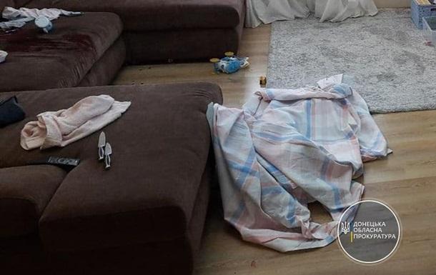 Житель Донбасса зарезал свою трехлетнюю дочь