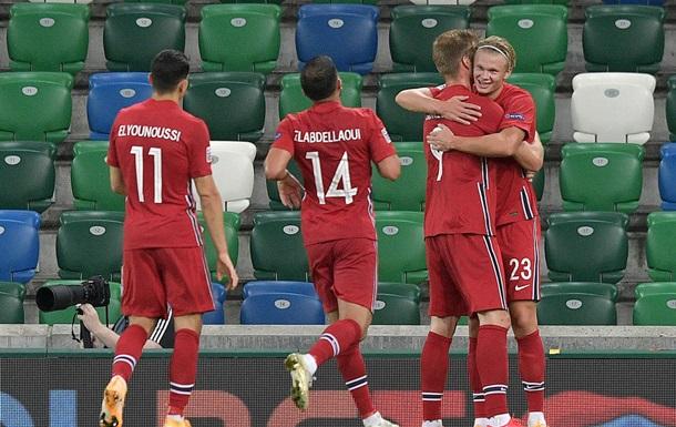 Норвегії присудили технічну поразку за скасований матч Ліги націй проти Румунії