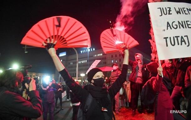 У Варшаві до протестувальників застосували газ і кийки