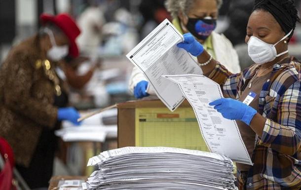 Перерахунок голосів підтвердив перемогу Байдена в Джорджії