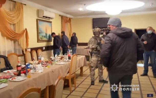 На Черкащині копи накрили злодійську  сходку