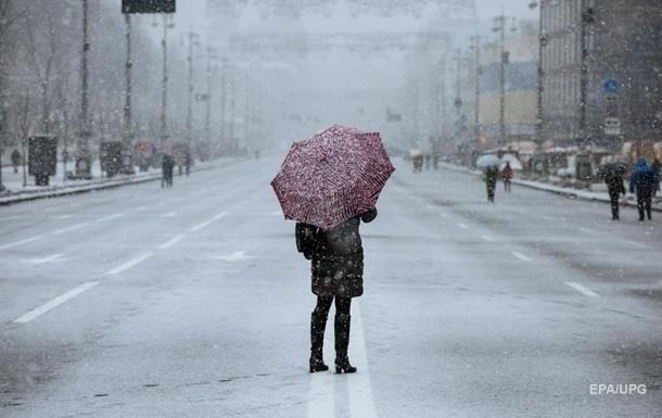 Погода на неделю: в Украину идут дожди с мокрым снегом