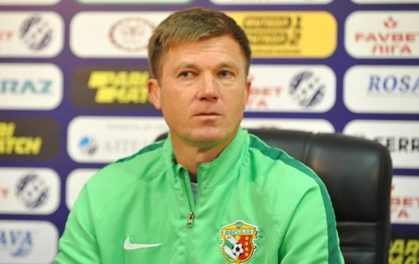 Максимов – лучший тренер десятого тура УПЛ
