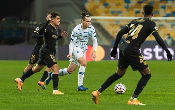 Динамо втратило теоретичні шанси на вихід у плей-офф Ліги чемпіонів