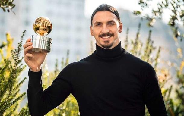 Ібрагімович визнаний футболістом року у Швеції