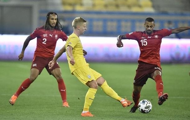 Україні дали технічну поразку за матч з Швейцарією