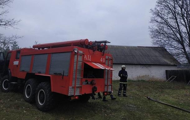 Под Киевом при пожаре погибли три человека