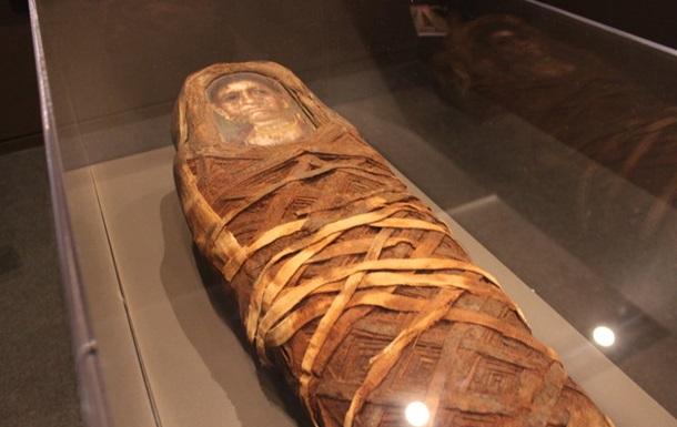 Вчені виявили артефакт всередині єгипетської мумії